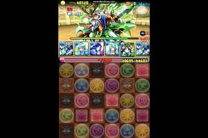 【パズドラ】チャレンジダンジョン(第10回) Lv10 星雲神・ヌトPT ノーコン