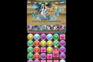 パズドラ「チャレンジダンジョン 10」lv7 覚醒ラクシュミー ノーコン
