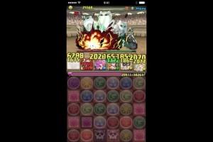 【パズドラ】チャレンジダンジョン第10回Lv7 麒麟サクヤPT ノーコン