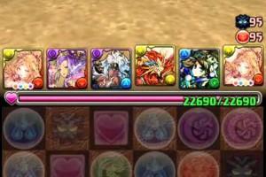 【パズドラ】チャレンジダンジョン!11 LV10【Fail】
