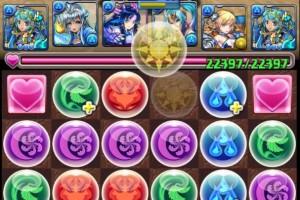【パズドラ】「チャレンジダンジョン!11」 Lv7 聖流の女神・サラスヴァティ PT ノーコン
