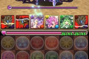 【パズドラ】第12回 チャレンジダンジョン! Lv8 回復なし ベジットPT