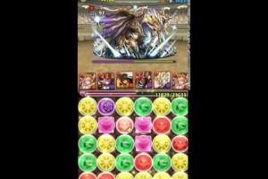 【パズドラ】チャレンジダンジョン!12 - Lv9 ノーコン (覚醒ミネルヴァpt)