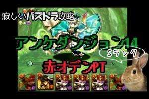 アンケートダンジョン14 木妖精 超級 赤オーディンPT ( Sランク)【パズドラ】