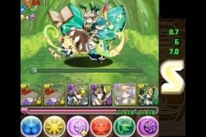 パズドラ【アンケートダンジョン14・超級】時魔道士×アテナPT (Sランク)