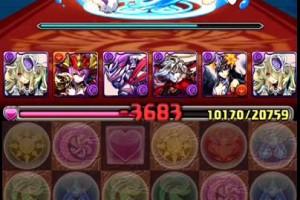 Amazing 【パズドラ】 グリモワール降臨! 魔導姫 超地獄級 パンドラパ 1コン
