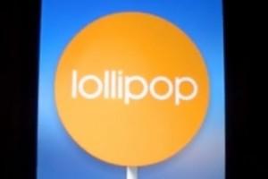 Android 5.0(Lollipop)のイースターエッグ。ちょっとしたゲーム【Flappy Droid】が出来ます。Nexus7にて。