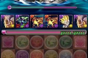 【パズドラ】黒の海賊龍 闇ファガン周回