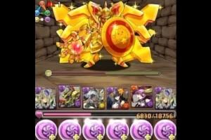 パズドラ【火曜ダンジョン・黄金兵・超地獄級】パンドラPT ノーコン!攻略
