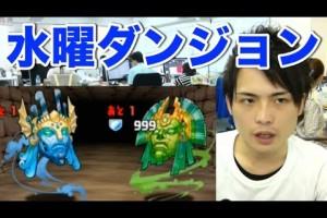 パズドラ 【水曜ダンジョン】地獄級 コスケがパンドラPTで攻略!