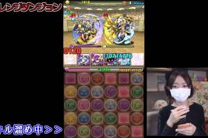 【パズドラ】チャレンジダンジョン7!ブブソニで挑戦!Part94【ろあ】