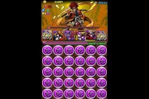 【パズドラ】大泥棒参上!(五右衛門)超地獄級 パンドラPT 1分台でノーコン攻略