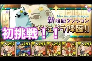 パズドラ【メジェドラ降臨!】コスケの超地獄級初見プレイ