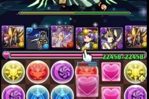 パズドラ【降臨チャレンジ】神世界 光アヌビスPT
