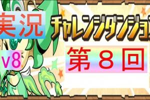 【パズドラ】チャレンジダンジョン Lv8 光アヌビスPT