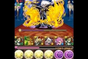 パズドラ【メフィスト降臨!超地獄級】アテナPT ノーコン!攻略