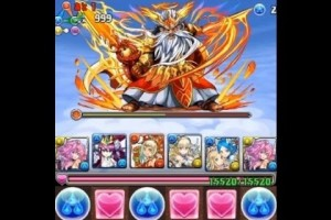 ゼウス・ヴァルカン降臨!超地獄級 光メタトロンPT【パズドラ】