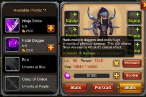Heroes Charge: Opening and Leveling Ninja Assassin Hanzo
