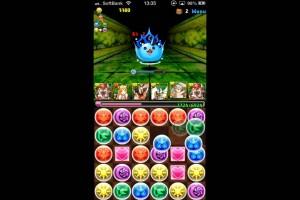 パズドラ【ドラりん降臨】超級 KOBレオンハート×2(3コンボ4倍)で攻略