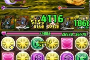 黒の丼龍 超地獄級 アテナPT【パズドラ】