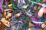 【パズドラ】エーギル降臨チャレンジ!2体以下編成 闇アテナPT