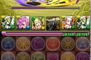 パズドラ【ドラゴンボールコラボ2】魔人復活 改級 アテナパ ノーコン 安定