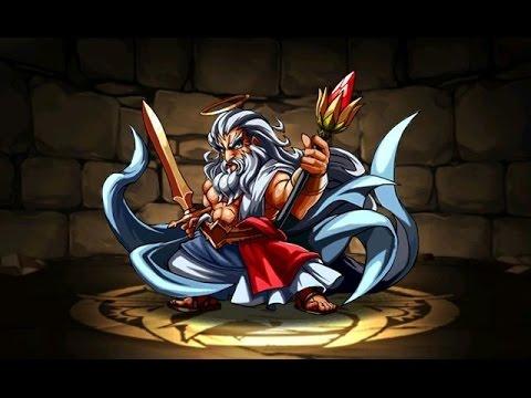 【パズドラ】降臨チャレンジ!全能神(ゼウス降臨!超地獄級)超ベジットPT※ノーコン