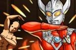 【モンスト】火の国の狗神様-上級 ウルトラマンタロウ×ウルトラセブンDK