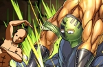 【パズドラ】水の護神龍 水護龍 超地獄級 キン肉マンソルジャー×緑ソニアPT