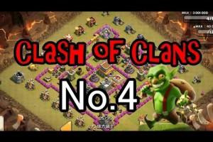 【Clash of Clans】 クラッシュオブクラン NO.4 【あしあと】