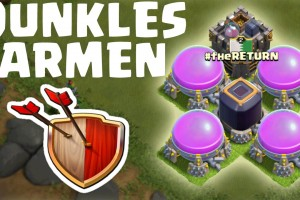 [facecam] DUNKLES FARMEN! || CLASH OF CLANS || Let's Play CoC [Deutsch/German HD]