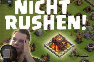 [facecam] NICHT DAS RATHAUS RUSHEN! || CLASH OF CLANS || Let's Play CoC [Deutsch/German HD]