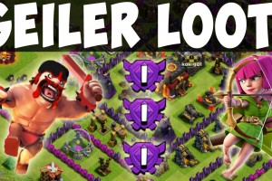 GEILER LOOT IN KRISTALL 1! || CLASH OF CLANS || Let's Play CoC [Deutsch/German HD]