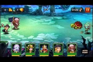 HeroesCharge ヒーローズチャージ 時空の裂け目 潮汐の神殿 難易度1  take12