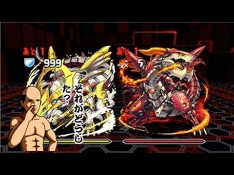 火と光の機甲龍 火光対戦 超地獄級 超ベジットPT【パズドラ】※ノーコン