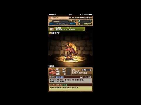 スフィンクス降臨!獅王獣 地獄級 超ベジットPT【パズドラ※ノーコン