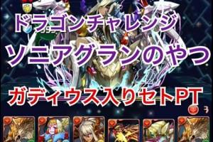 【パズドラ】ドラゴンチャレンジ 継界龍 セトPT