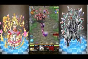 【フルボッコヒーローズX】覚醒進化の試練 無属性カオス級(超マリーPT)